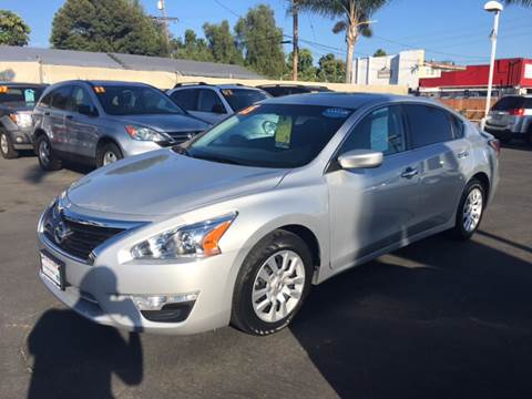 2015 Nissan Altima for sale at South Bay Motors in Chula Vista CA
