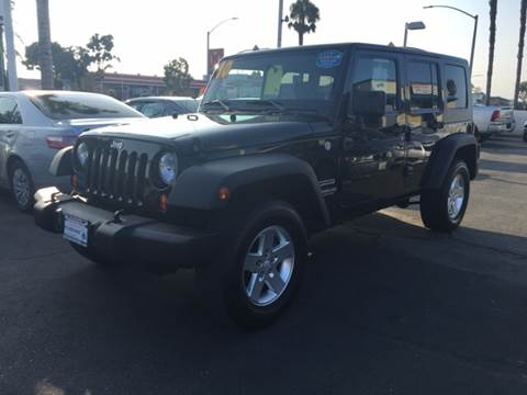 2010 Jeep Wrangler Unlimited for sale at South Bay Motors in Chula Vista CA