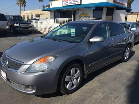 2008 Nissan Altima for sale at South Bay Motors in Chula Vista CA