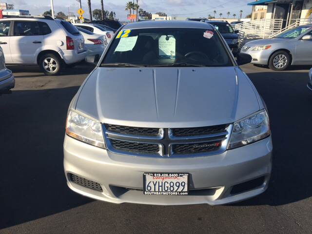 2012 Dodge Avenger for sale at South Bay Motors in Chula Vista CA