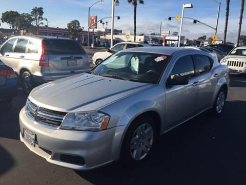 2012 Dodge Avenger for sale at South Bay Motors in Chula Vista CA