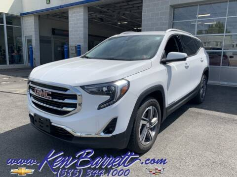 2019 GMC Terrain for sale at KEN BARRETT CHEVROLET CADILLAC in Batavia NY