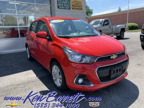 2018 Chevrolet Spark for sale at KEN BARRETT CHEVROLET CADILLAC in Batavia NY