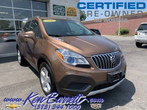 2016 Buick Encore for sale at KEN BARRETT CHEVROLET CADILLAC in Batavia NY