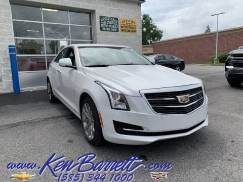 2018 Cadillac ATS for sale at KEN BARRETT CHEVROLET CADILLAC in Batavia NY