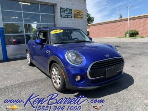 2019 MINI Hardtop 2 Door for sale at KEN BARRETT CHEVROLET CADILLAC in Batavia NY
