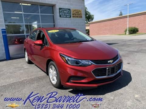 2018 Chevrolet Cruze for sale at KEN BARRETT CHEVROLET CADILLAC in Batavia NY