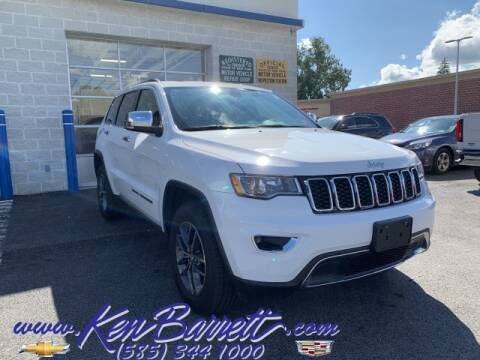 2017 Jeep Grand Cherokee for sale at KEN BARRETT CHEVROLET CADILLAC in Batavia NY