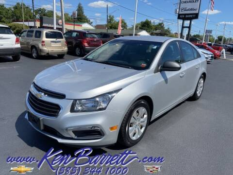 2016 Chevrolet Cruze Limited for sale at KEN BARRETT CHEVROLET CADILLAC in Batavia NY