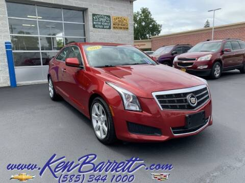 2013 Cadillac ATS for sale at KEN BARRETT CHEVROLET CADILLAC in Batavia NY