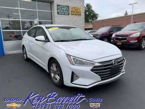 2019 Hyundai Elantra for sale at KEN BARRETT CHEVROLET CADILLAC in Batavia NY