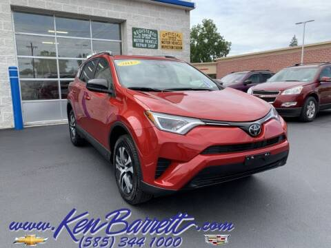 2017 Toyota RAV4 for sale at KEN BARRETT CHEVROLET CADILLAC in Batavia NY