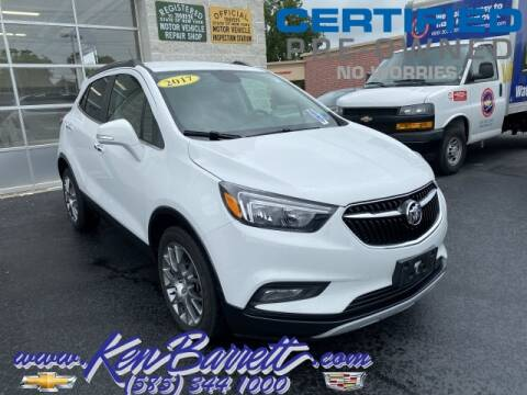 2017 Buick Encore for sale at KEN BARRETT CHEVROLET CADILLAC in Batavia NY