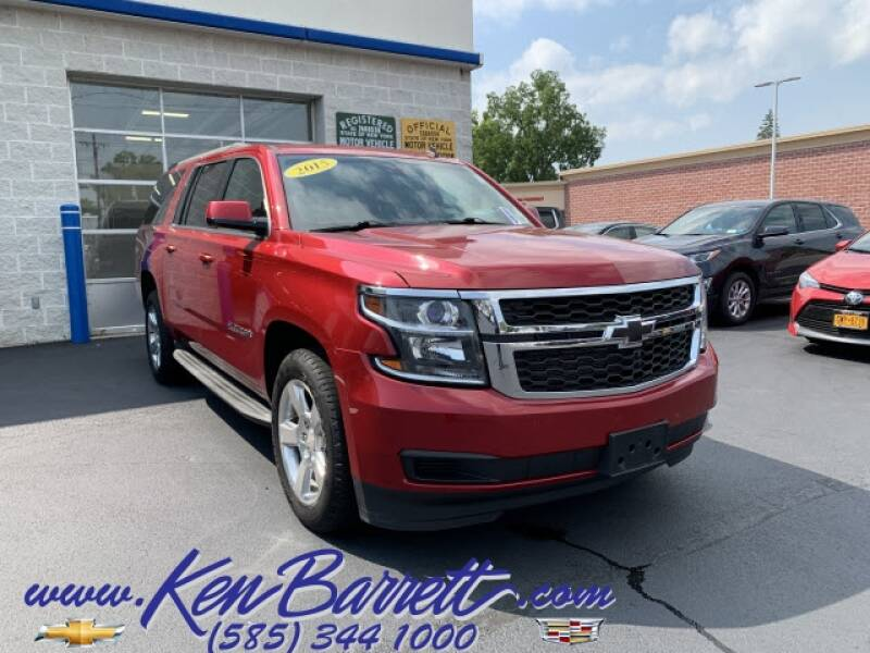 2015 Chevrolet Suburban for sale at KEN BARRETT CHEVROLET CADILLAC in Batavia NY