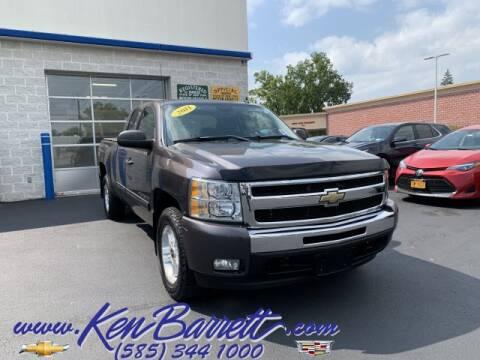 2011 Chevrolet Silverado 1500 for sale at KEN BARRETT CHEVROLET CADILLAC in Batavia NY