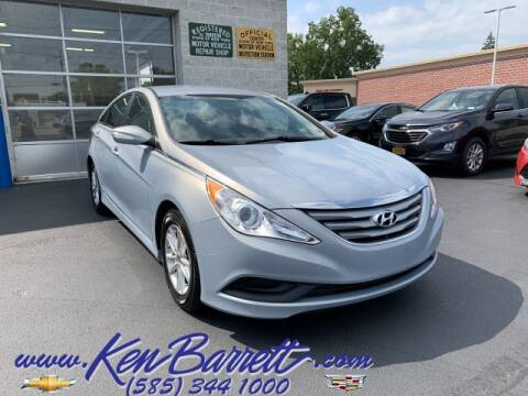 2014 Hyundai Sonata for sale at KEN BARRETT CHEVROLET CADILLAC in Batavia NY