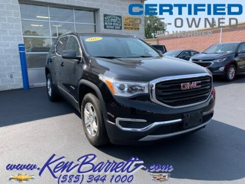 2017 GMC Acadia for sale at KEN BARRETT CHEVROLET CADILLAC in Batavia NY