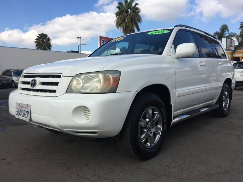 Toyota Highlander In Westminster CA AJ Auto Group - 2004 highlander