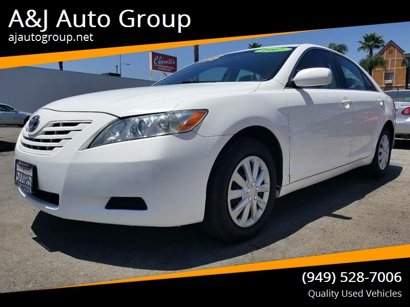 2007 Toyota Camry For Sale At Au0026J Auto Group In Westminster CA