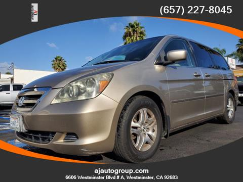 2005 Honda Odyssey for sale in Westminster, CA