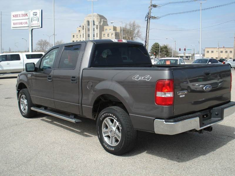 2007 ford f-150 xlt 4dr supercrew 4wd styleside 5.5 ft. sb in