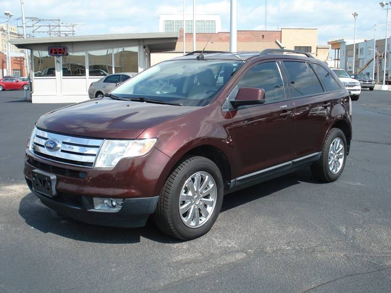 Ford Edge Sel Dr Crossover Hutchinson Ks