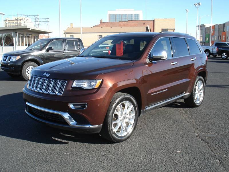 2014 Jeep Grand Cherokee 4x4 Summit 4dr Suv In Hutchinson Ks