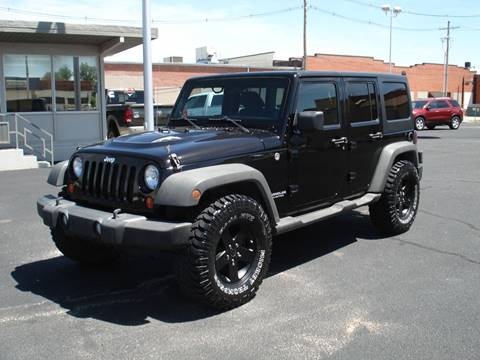 2011 Jeep Wrangler Unlimited for sale in Hutchinson, KS