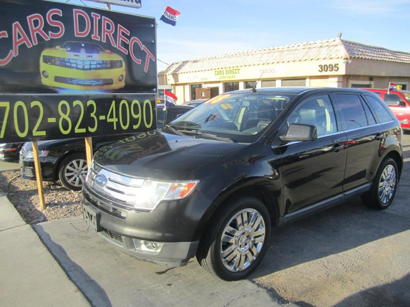 Ford Edge Limited Dr Crossover Las Vegas Nv
