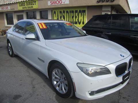 BMW Las Vegas >> 2011 Bmw 7 Series For Sale In Las Vegas Nv