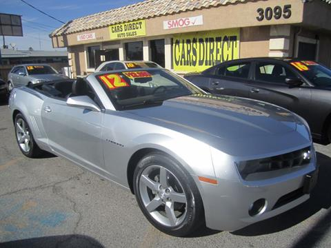 Used Chevrolet Camaro For Sale In Las Vegas Nv