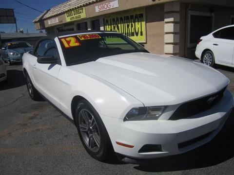2012 Ford Mustang for sale in Las Vegas, NV