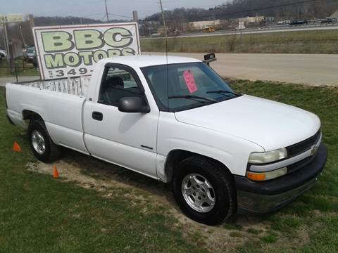 2000 Chevrolet Silverado 1500 for sale at BBC Motors INC in Fenton MO