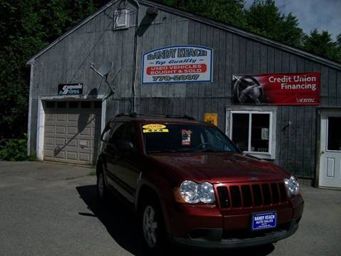 2008 Jeep Grand Cherokee for sale in New Sharon, ME