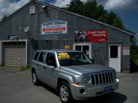 2010 Jeep Patriot for sale in New Sharon, ME