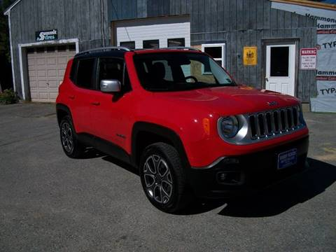 2016 jeep renegade for sale in maine. Black Bedroom Furniture Sets. Home Design Ideas