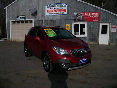 2013 Buick Encore for sale in New Sharon, ME