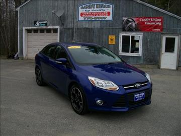 2013 Ford Focus for sale in New Sharon, ME