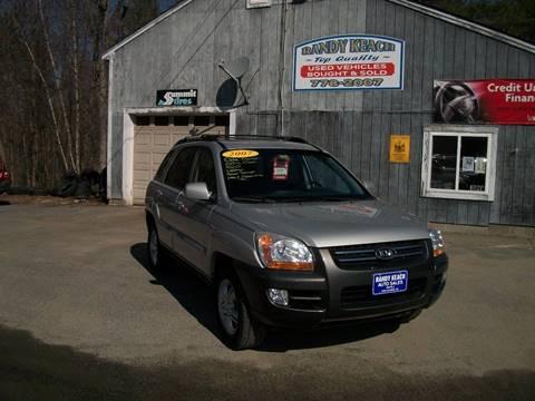 2007 Kia Sportage for sale in New Sharon, ME