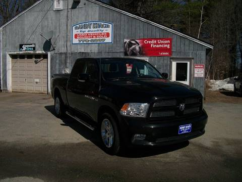 2012 RAM Ram Pickup 1500 for sale in New Sharon, ME