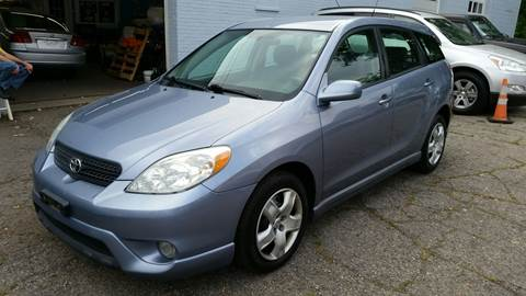 2006 Toyota Matrix for sale at Devaney Auto Sales & Service in East Providence RI
