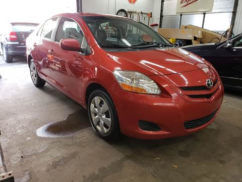 2008 Toyota Yaris for sale at Devaney Auto Sales & Service in East Providence RI