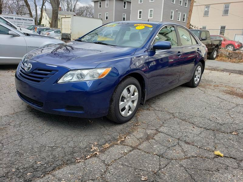 2008 Toyota Camry for sale at Devaney Auto Sales & Service in East Providence RI