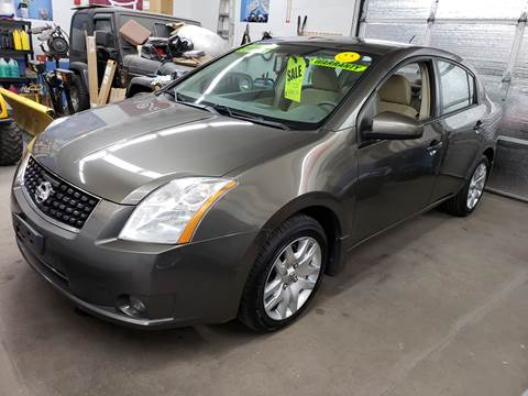 2009 Nissan Sentra for sale at Devaney Auto Sales & Service in East Providence RI