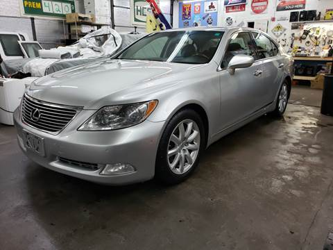 2007 Lexus LS 460 for sale at Devaney Auto Sales & Service in East Providence RI