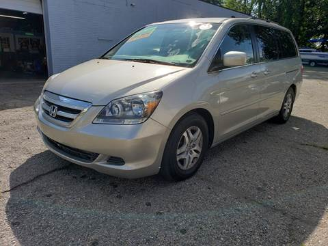 2007 Honda Odyssey for sale at Devaney Auto Sales & Service in East Providence RI