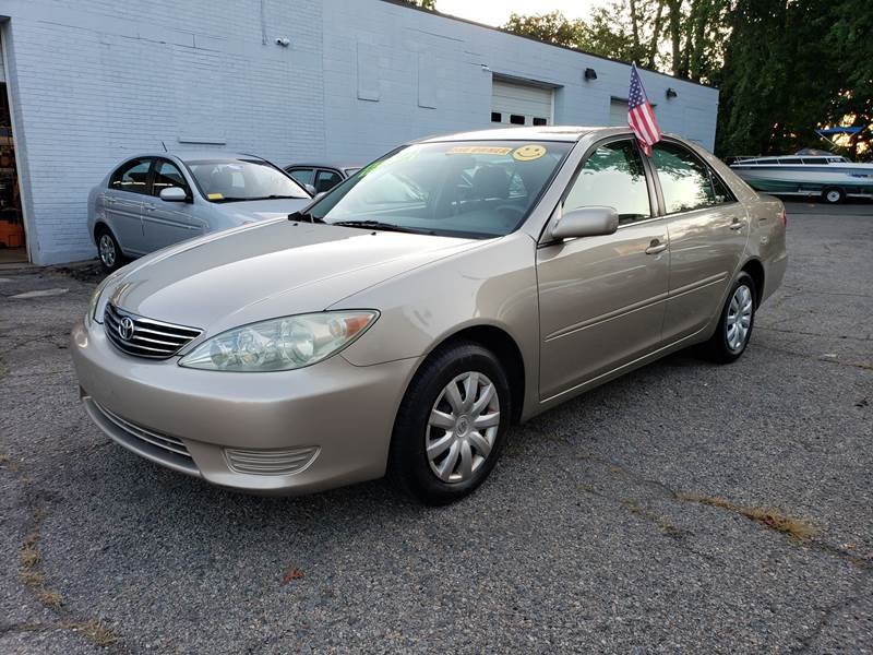 2005 Toyota Camry for sale at Devaney Auto Sales & Service in East Providence RI