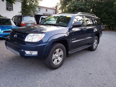 2003 Toyota 4Runner for sale at Devaney Auto Sales & Service in East Providence RI