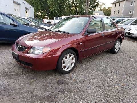 2002 Mazda Protege for sale at Devaney Auto Sales & Service in East Providence RI
