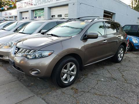 2010 Nissan Murano for sale at Devaney Auto Sales & Service in East Providence RI